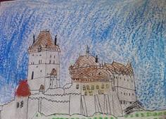 Samul Šajtlava a jeho frotáž - hrad Karlštejn