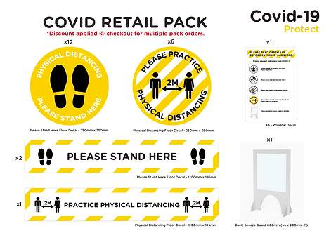COVID RETAIL PACK