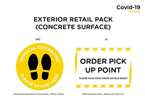 Exterior Retail Pack