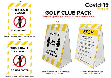Golf Club Pack