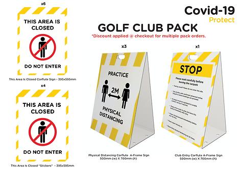 Golf Club Pack