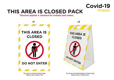 'This Area Is Closed' Pack