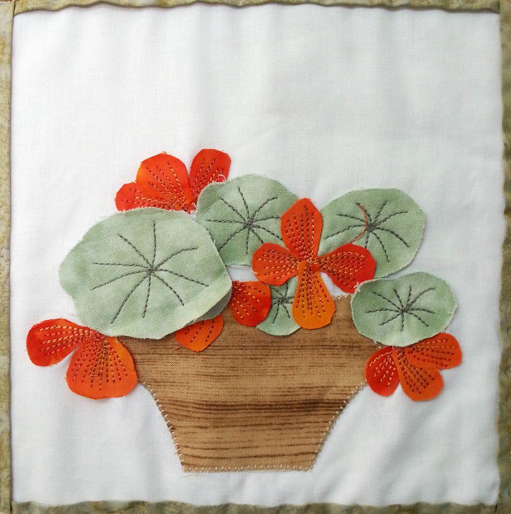 פרחים מבד