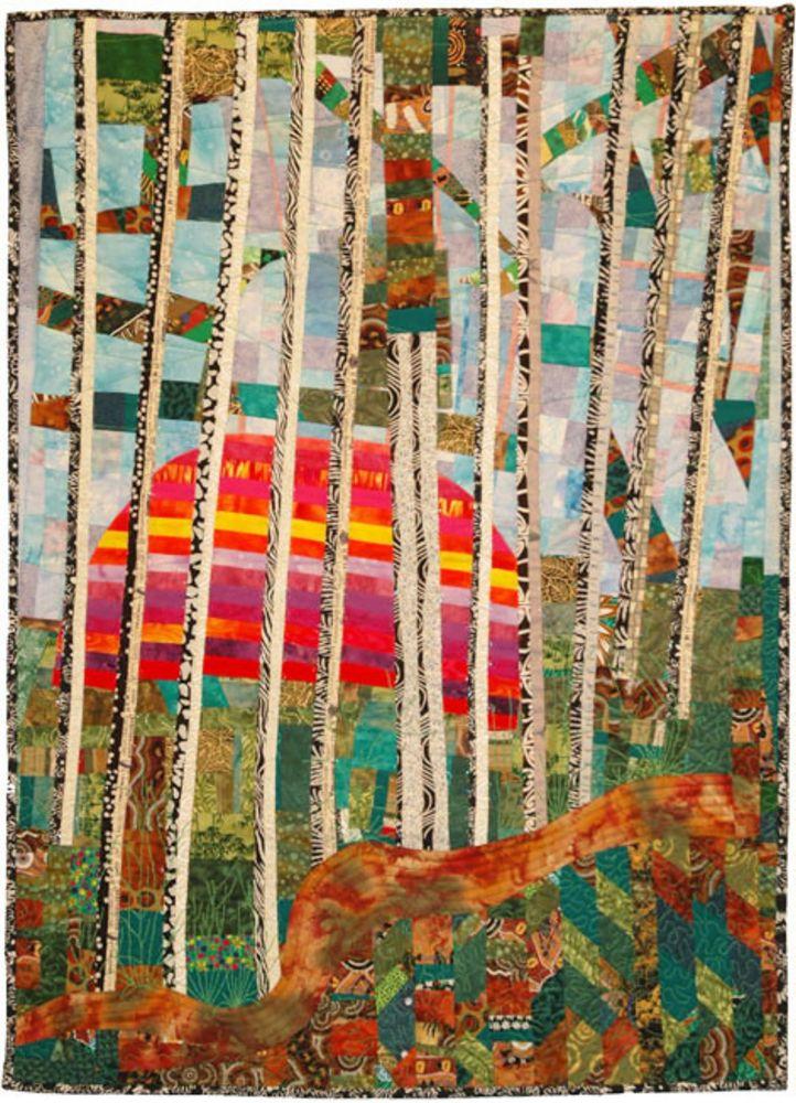 אמנית: ורי כוגן, קווילט יער