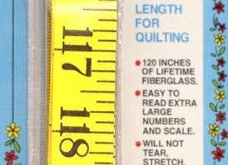 Quilt Tape Measure