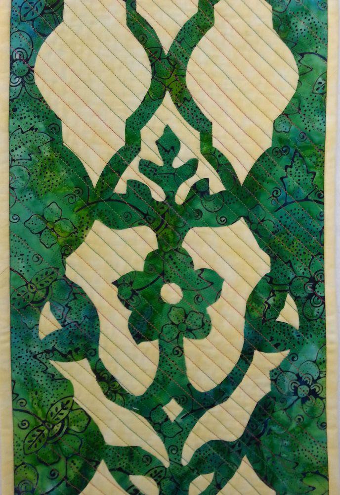 אמנית: רותי שביט, קווילט תמונה כפולה
