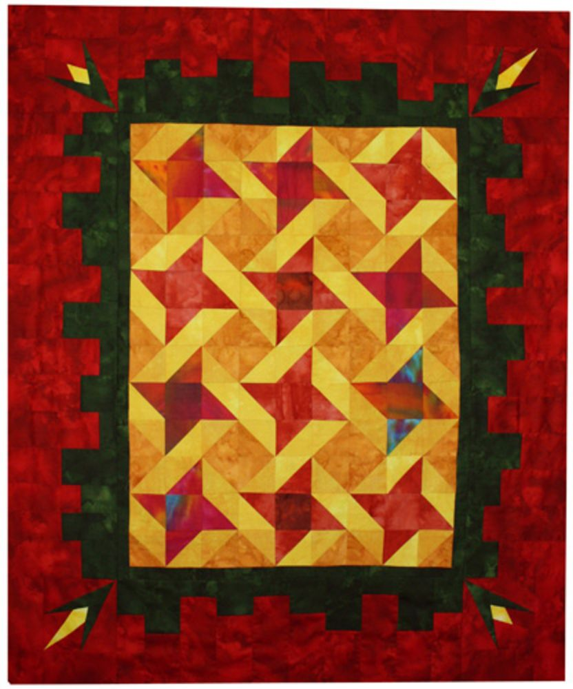 Friendship Star Quilt - Danit Rofeh