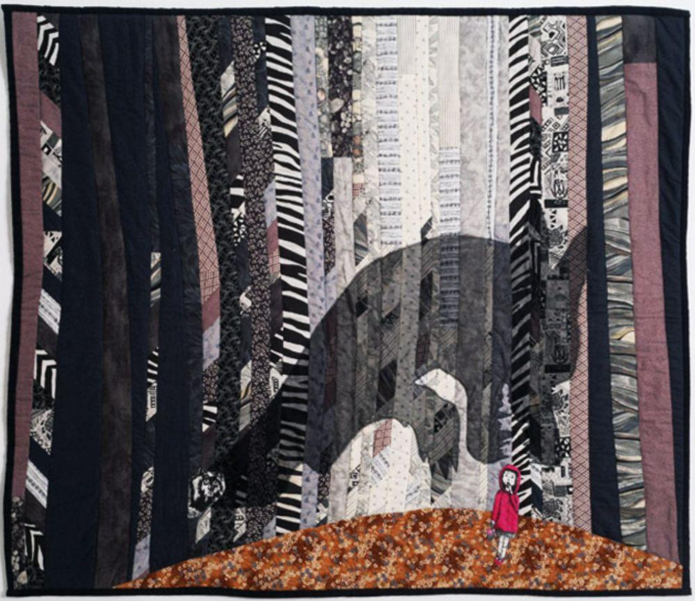 אמנית: סדרנה וון ברג, קווילט יער