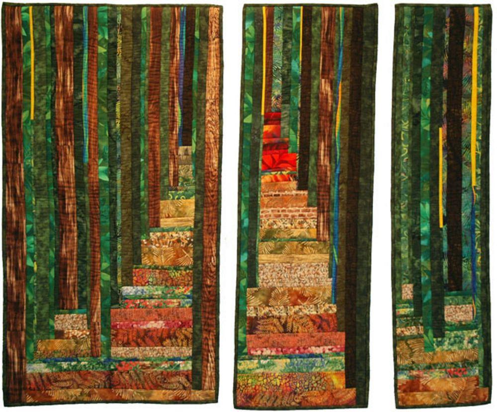 אמנית: דיאנה אביבי, קווילט יער