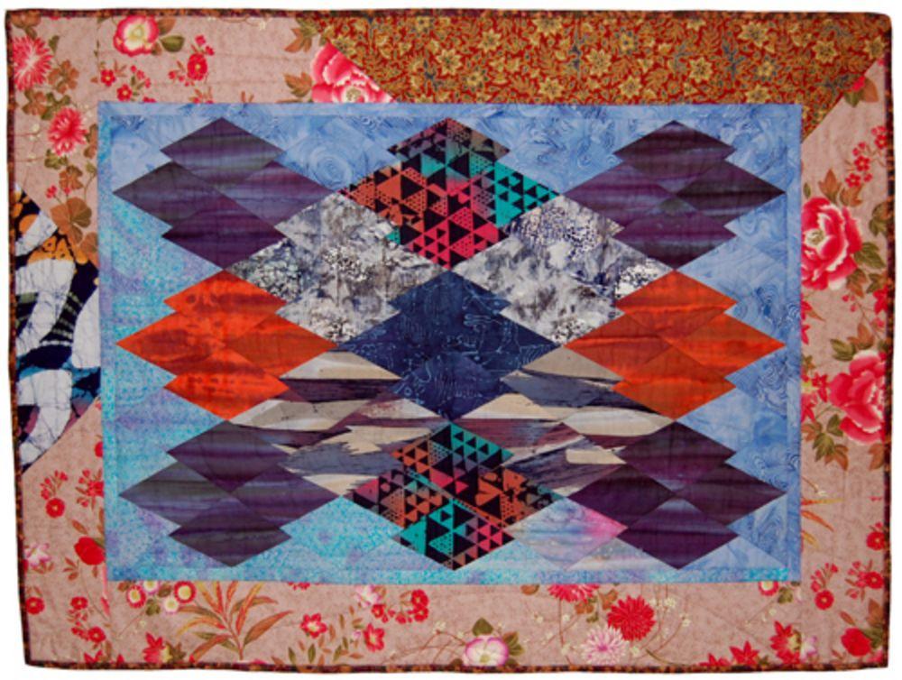 Japanese Puzzle quilt - Danit Rofeh