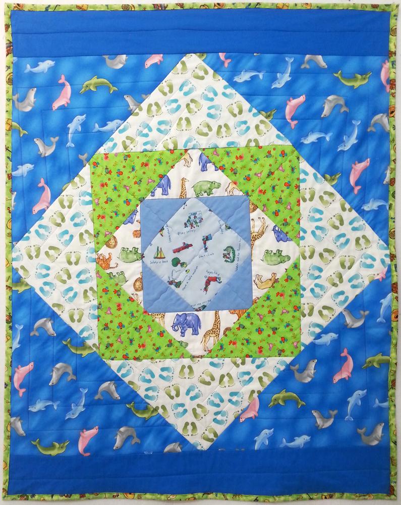 Baby Quilt טלאים שמיכה לתינוק