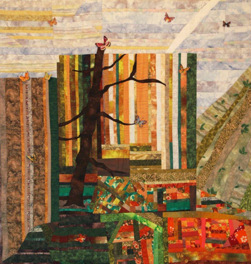 אמנית: שושי רימר, קווילט יער