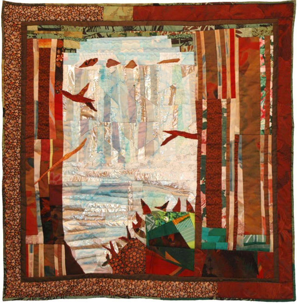אמנית: עדנה פרידלנדר, קווילט יער