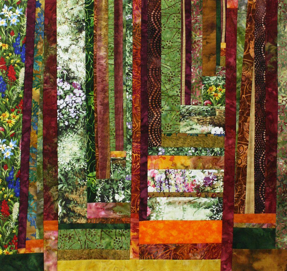 אמנית: מינה ירשנסקי, קווילט יער