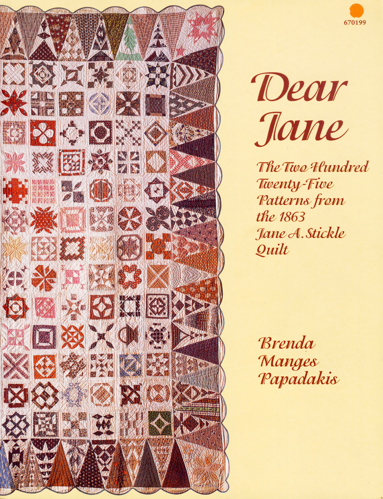 Dear Jane, book cover
