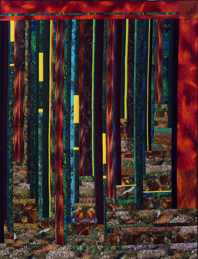 אמנית: דנית רופא, קווילט יער