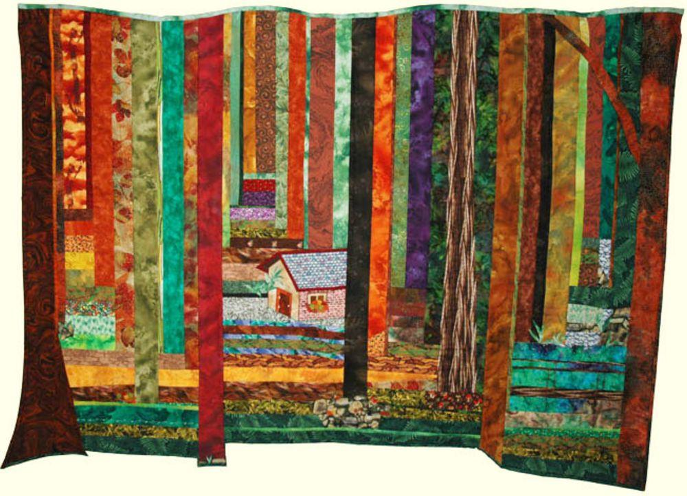 אמנית: נדיה, קווילט יער