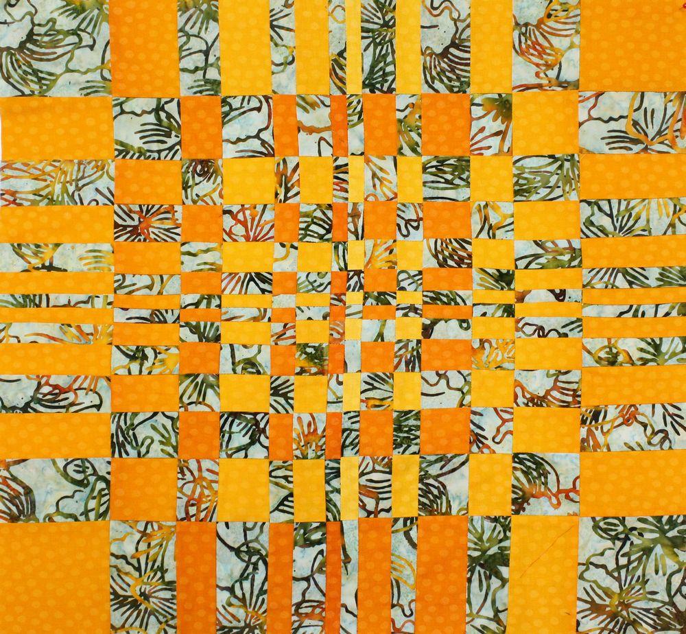 אמנית: תמי גורביץ', מעברים טלאים
