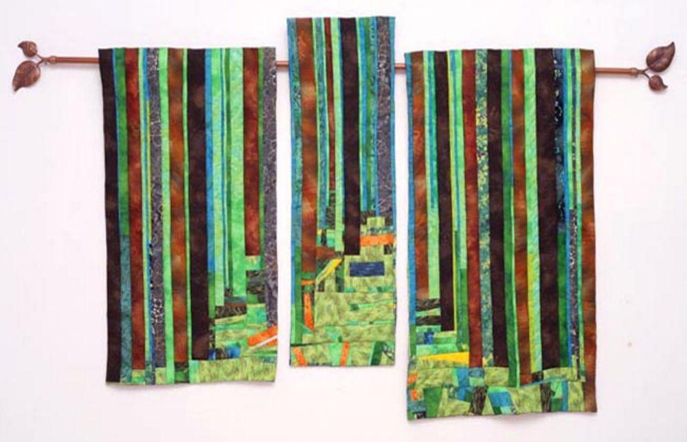 אמנית: דנה הר גיל, קווילט יער