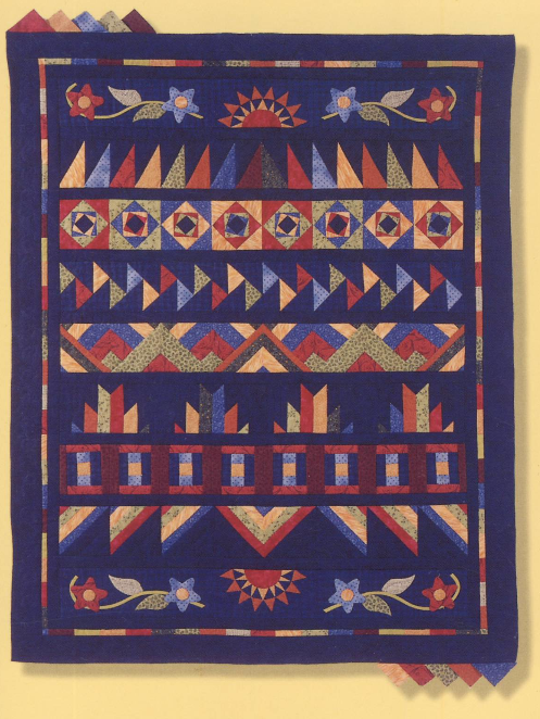 Quilt from Karin Hellaby's book
