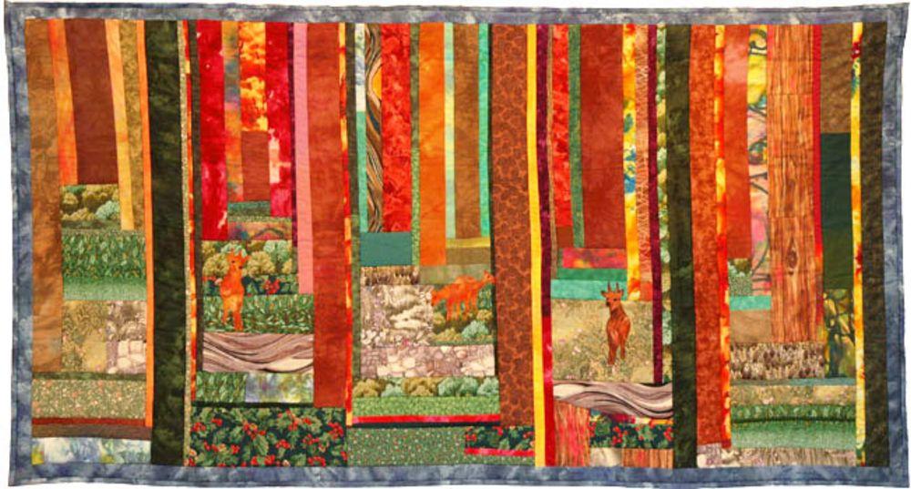 אמנית: ורדה קרת, קווילט יער