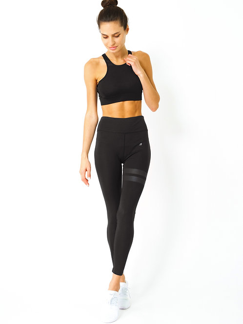 Ashton Set - Sports Bra & Leggings - Black