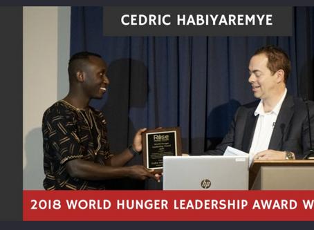 Award winning Rwandan scientist keen to help end hunger in Africa