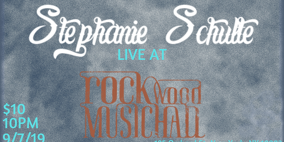 Stephanie Schulte Live at Rockwood Music Hall NYC