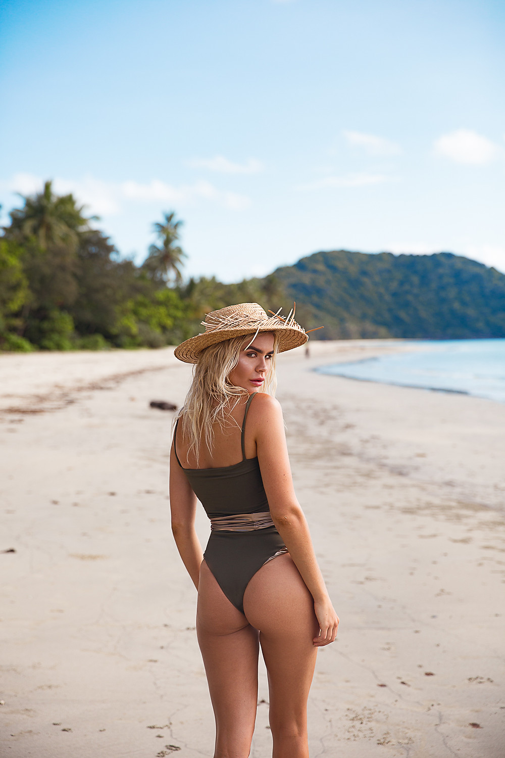 one piece Australian swimwear