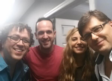 JC,Andy, Lena & Cris