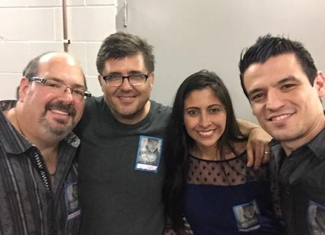 With Dan & Luis en Arjona Show