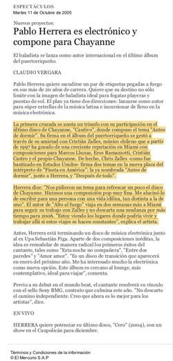 El Mercurio: Pablo Herrera