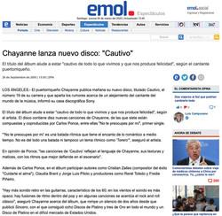 "Chayanne / ""Cautivo"""