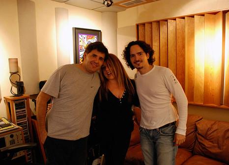 Con Ednita Nazario y Tommy Torres