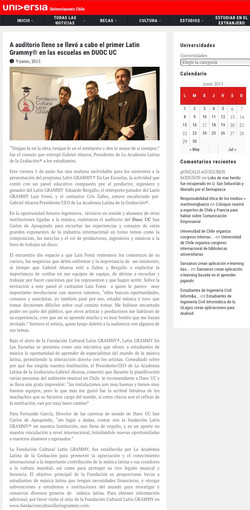 Latin Grammy/Fundación