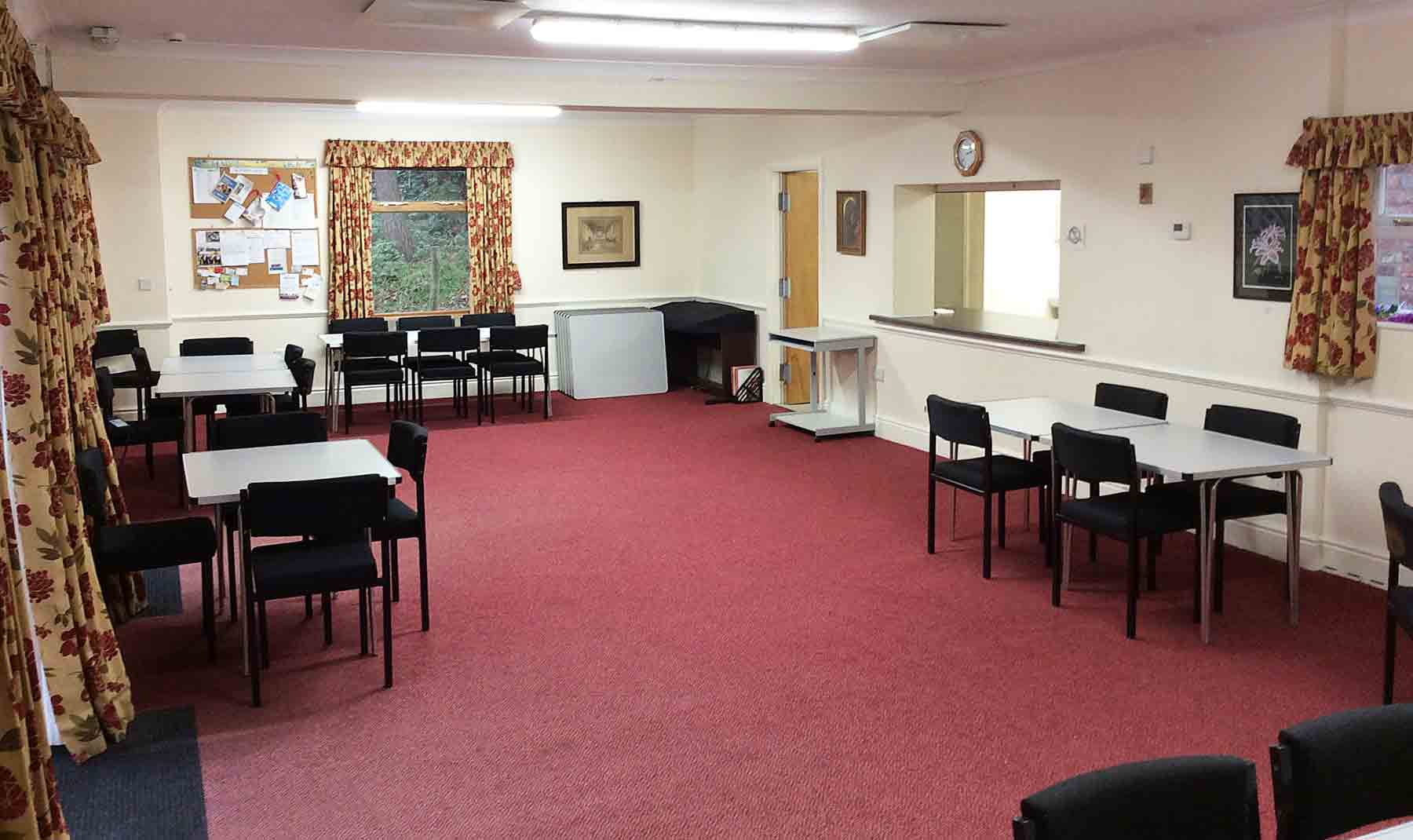 Gawsworth St James Meeting Room