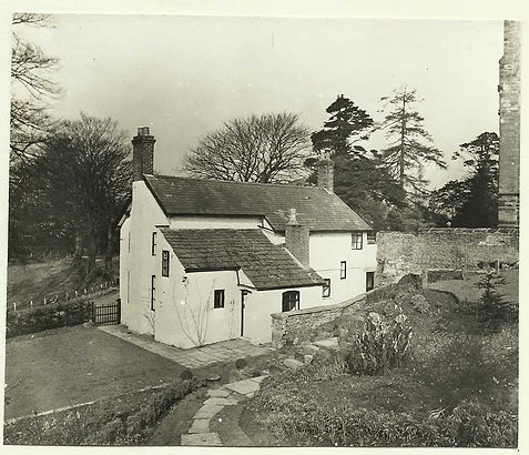 Gawsworth House before 1949