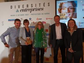 ACT4 TALENTS reçoit le Trophée de la Solidarité en entreprise