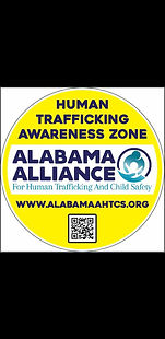 YELLOW Human Trafficking Awareness Zone