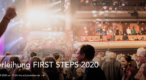 FIRST STEPS AWARD LIVE STREAM