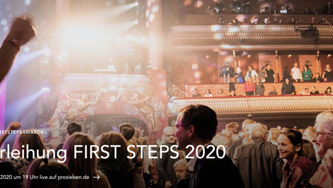 FIRST STEPS AWARD LIVE STREAM