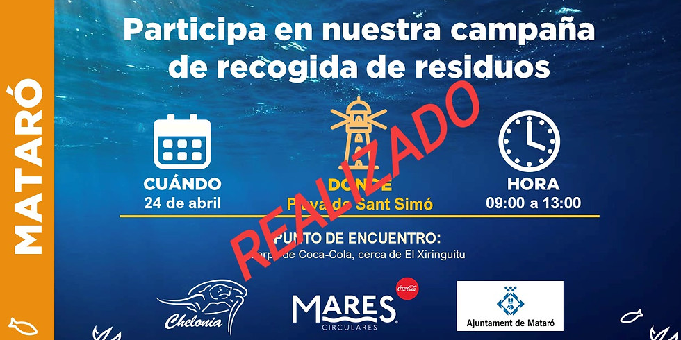 Limpieza de Playa en Mataró 2019 (EVENTO YA REALIZADO)