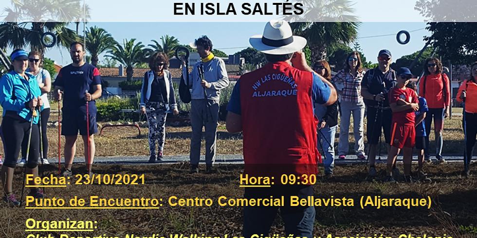 Jornada de Marcha Nórdica y Limpieza en Isla Saltés
