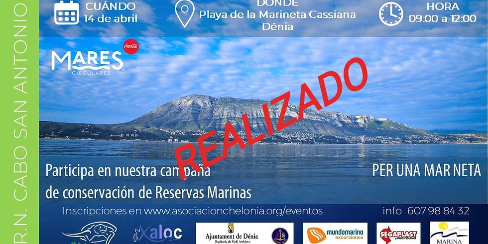 Limpieza litoral en Reserva Natural Cabo de San Antonio 2019 (EVENTO YA REALIZADO)