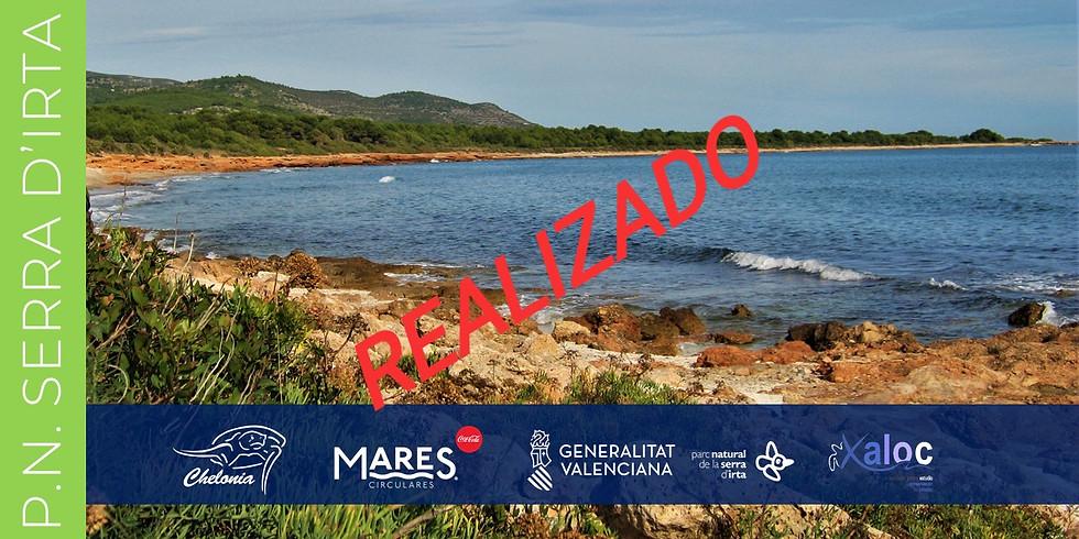 Recogida de Residuos litoral del PN Serra d'Irta 2019 (EVENTO YA REALIZADO)