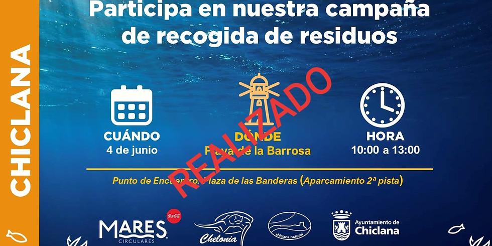 Limpieza de Playa de La Barrosa 2019 (EVENTO YA REALIZADO)