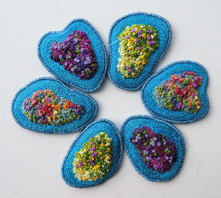 Island brooches