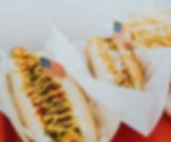 Patriotic Hot Dog