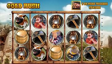 Gold Rush Online Pokies
