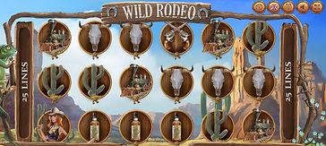 Wild Rodeo Online Pokies